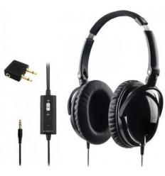 Casque Stéréo SymBIOSE® ANR I HIFI d'écoute musicale - ou protection - pliable pour MP3 Scanner Avion