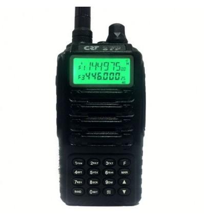 CRT 2FP (Vol Libre) Émetteur-récepteur bibande VHF-UHF