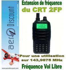 Extension de fréquence CRT 2FP (vol libre 143,9875 Mhz )