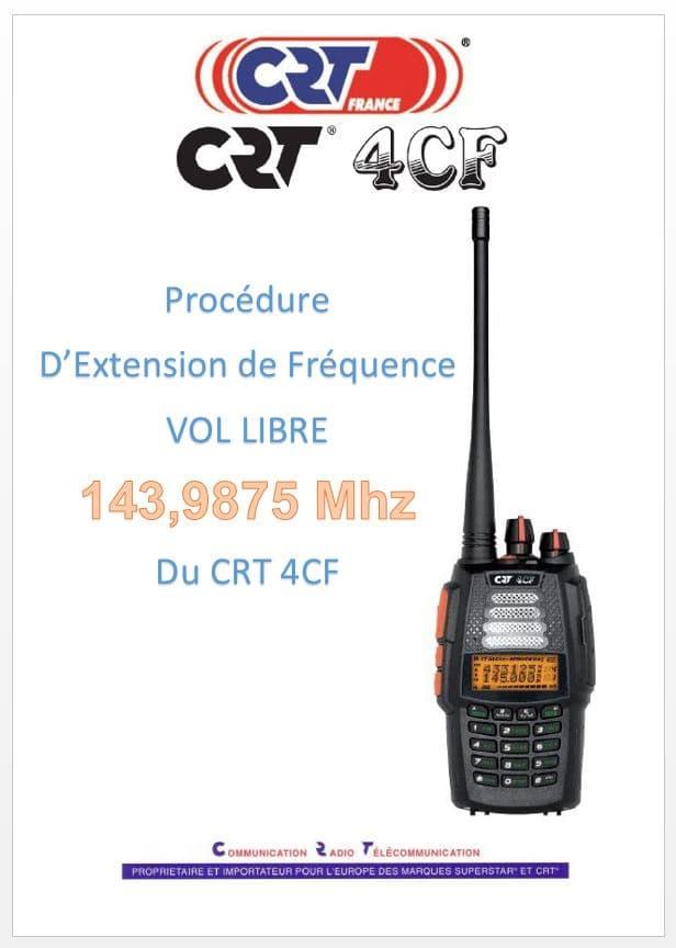 Manuel d'Extension de Fréquence CRT 4CF