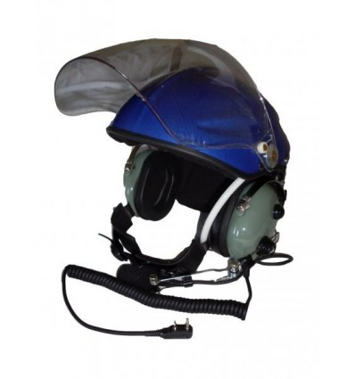 Ultra Light Helmet with Passif Headset Kenwood Jack