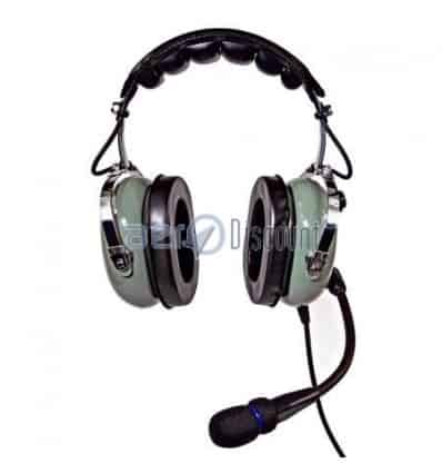 CASQUE ANR Tranquility AVION Prise MP3 - Double Gel