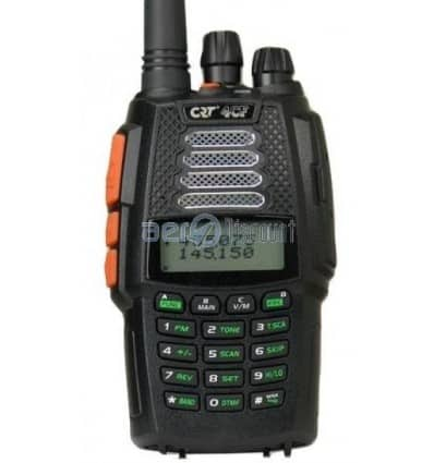 CRT 4CF (Free Flight) Transceiver Dual Band with airband listening
