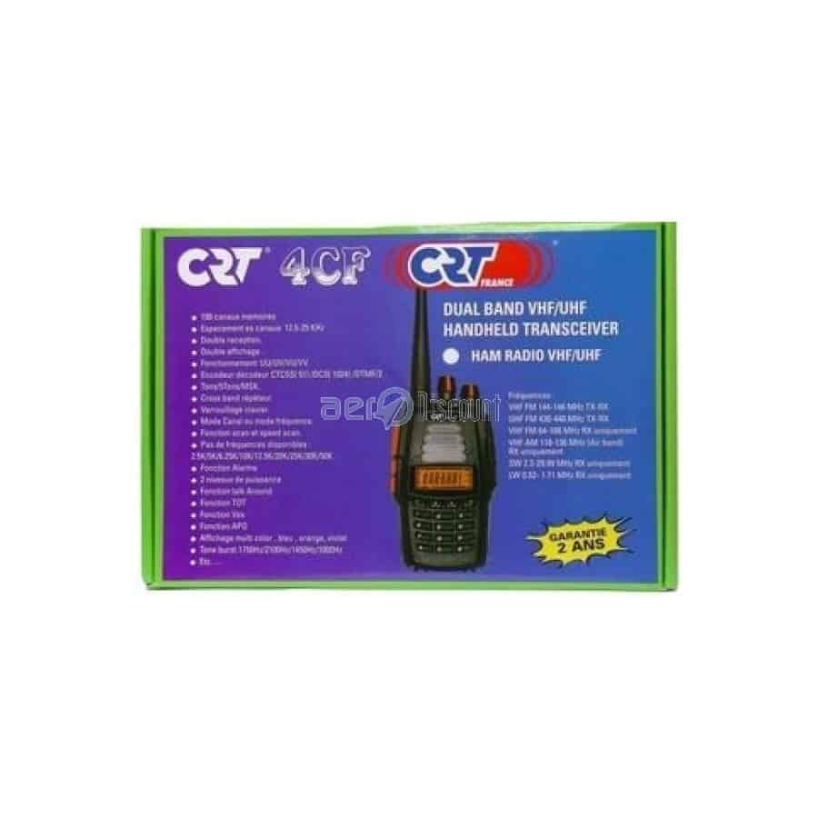 CRT 4CF (Free Flight) 135 € Transceiver bi-band VHF-UHF plus