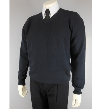 Pull-over coton V Collar Long Sleeves for Pilot and Cabin Crew