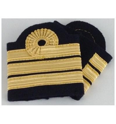 Coulants d'épaules Officier Pilote avec boucle de Nelson