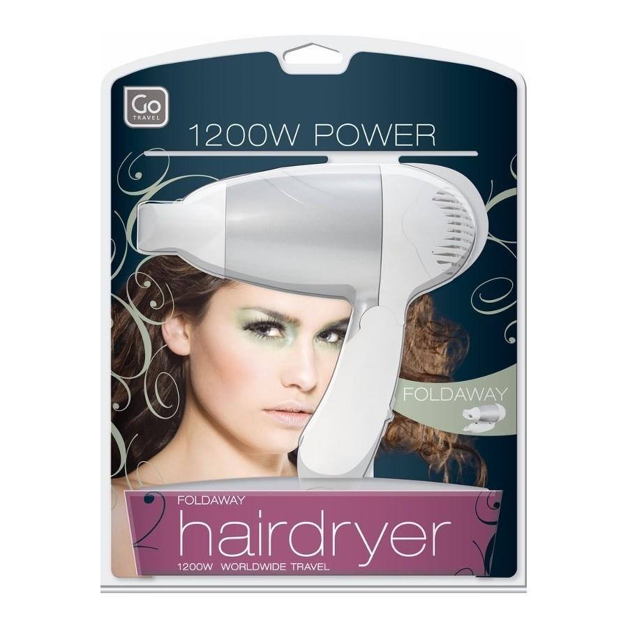 hairdryer to go s che cheveux pliable de voyage. Black Bedroom Furniture Sets. Home Design Ideas