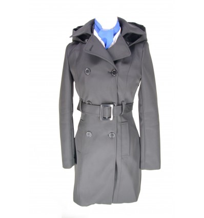 Woman Trench Coat for Pilot and Cabin Crew