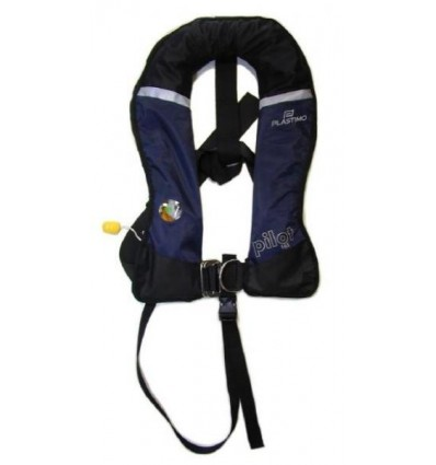 AVIATION LIFE JACKET PILOT ADVANTAGE INOX All Options Easy Check with HOOD