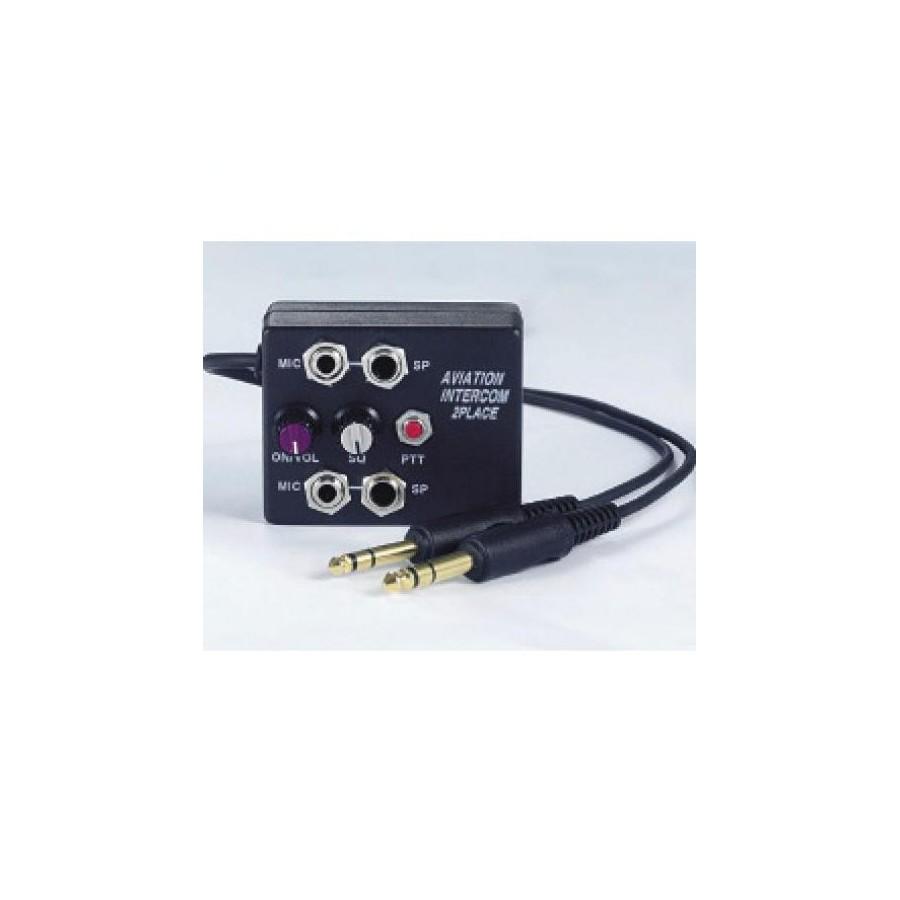 Aviation Ul Intercom 2 Ways Ptt Push To Talk On The Box 72 Basic Vox Circuit Controls Mix