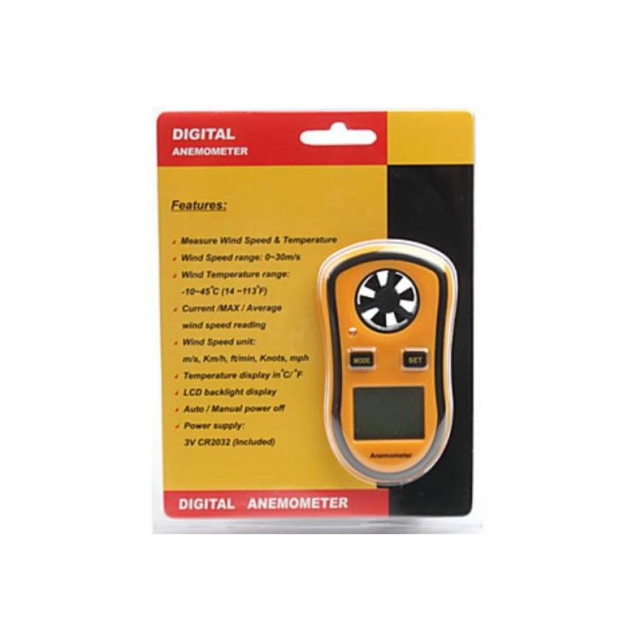 Anémomètre Thermomètre Vitesse Vent Température LCD ULM Parapente Paramoteur
