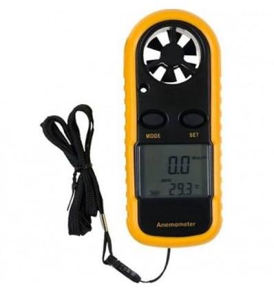Anémomètre Numérique Jauge de Vitesse du Vent Thermomètre
