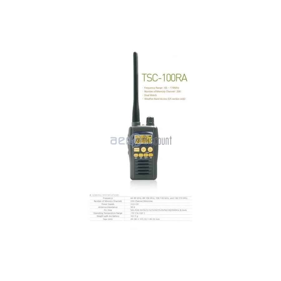 TSC 100 RA the Replacement of the Popular MAYCOM AR-108 -88€