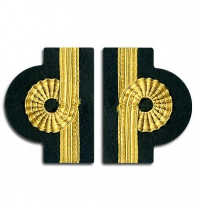 Epaulets 1 Stripe - Gold - Nelson design