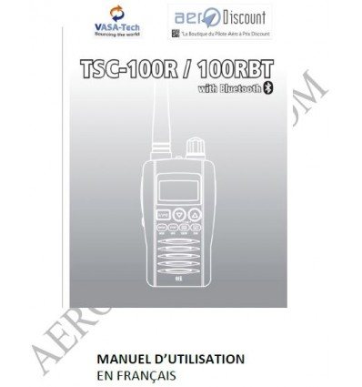 French User Manual of the TSC 100RA Airband Scanner