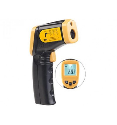 Non-contact infrared thermometer from -50 to 550°C with laser pointer