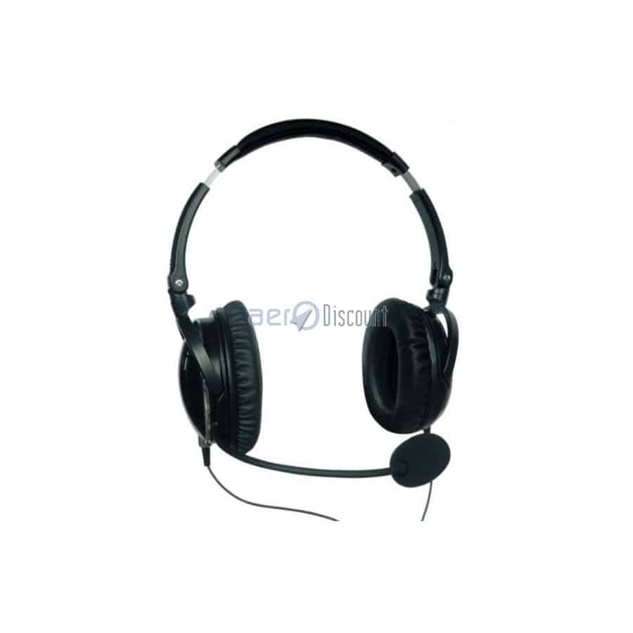 QUIETLIGHT® ANR Aviation HEADSET Fully Closed earcups - Aerodiscount