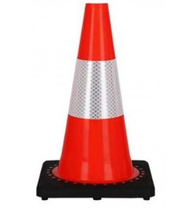 Set of 4 Red Plastic Cones for Third Pary Delimitation of Exclusion UAV Zone