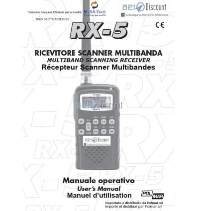 Notice en Français du POLMAR RX5