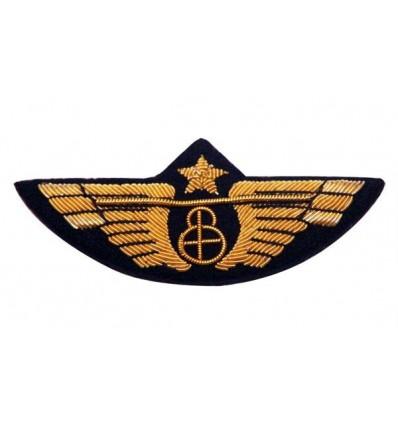 Pilot Wing Classic Globe Gold