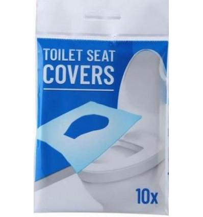 Couvre Siège Protection de Toilette WC Jetable Biodégradable