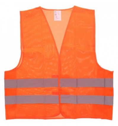 High Visibility Reflective Safety Vest ORANGE or YELLOW