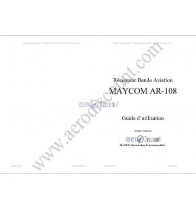 French manual of the Maycom AR108 receiver