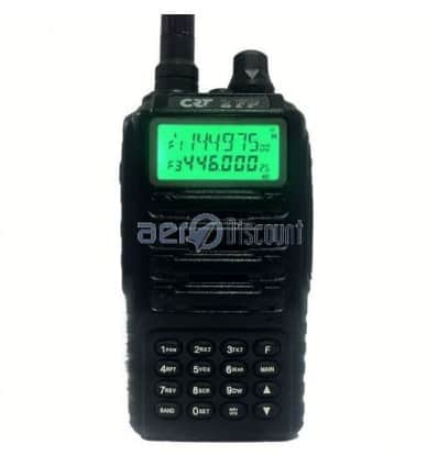 CRT 2 FP (Free Flight) Transceiver bi-band VHF-UHF