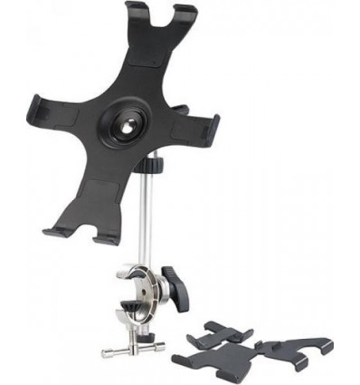 Support for iPAD with Fixing Clip on Plane Stick or Instrument Panel Cap