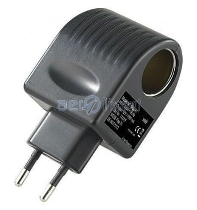Outlet Adapter Transformer 220v / 12v female cigarette lighter socket