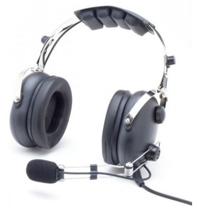 "CASQUE AVIATION ""Classic"" Aerodiscount perche ""metal"""