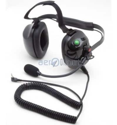 """Racing"" Headset for PMR Flex Mike boom Monojack 3,5"