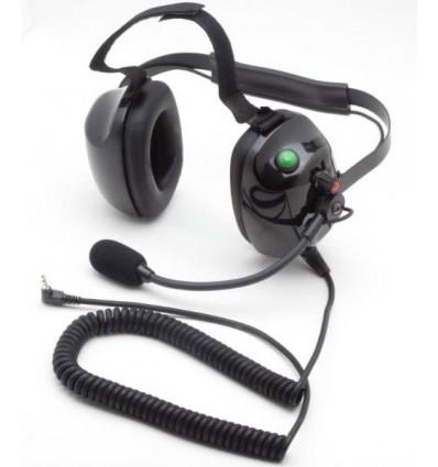 """Racing"" Headset for PMR Flex Mike boom Monojack 3,5"