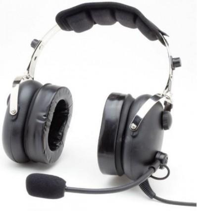 """CASQUE PILOTE """"Classic Confort"""" Aerodiscount Flex OREILLETTES GEL"""