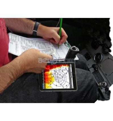 VELCRO Thigh Clipboard for IPAD 2 et 3