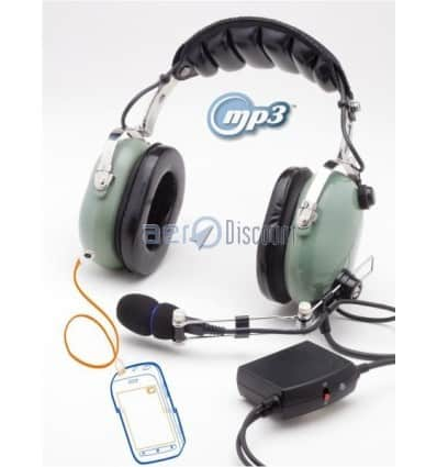 CASQUE ANR AVION Full Spectrum ® III N MP3 Cuir Proteine