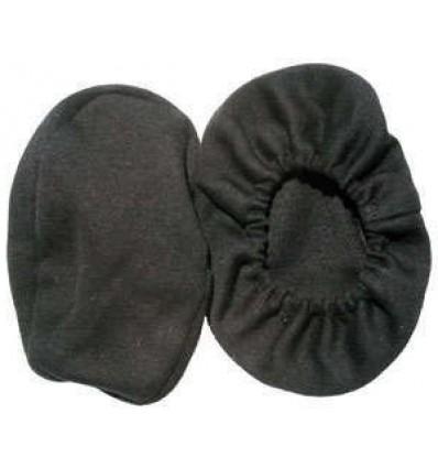 Paire de Bonnettes Lavables en 100% Coton pour Casque