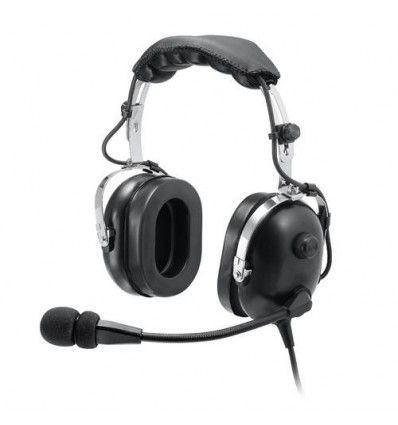 "AVIATION HEADSET ""BASIC JACK"" Aerodiscount Flex Mike Boom"