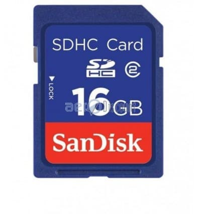 CARTE MEMOIRE SECURE DIGITAL HC 16GO SDHC