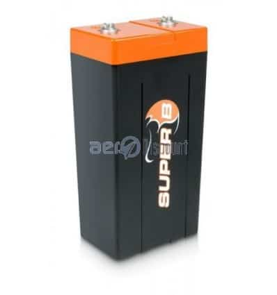 Batterie de démarrage Super B 20P, capacité nominale : 2,6Ah / 34Wh, puissance : 660W / 1980W
