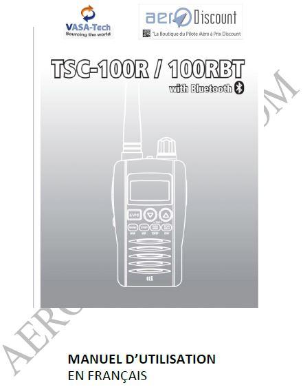 ACCES AU TELECHARGEMENT MANUEL EN FRANCAIS TSC 100R